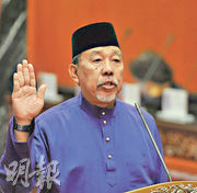 馬來西亞上議院議員英然(Mohamad Imran Abdul Hamid)