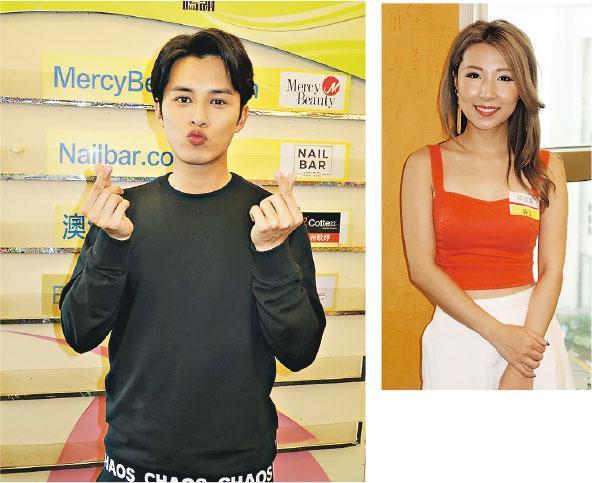 何廣沛(左圖)和譚嘉儀(右圖)同年同月生,生日後便31歲了。(攝影/記者:鍾一虹)