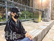 方仲賢母親(圖)希望浸大校長錢大康可以站在學生角度,運用其影響力發聲,要求警方解釋為何拘捕其兒子,亦希望警方立即釋放他。(劉家豪攝)