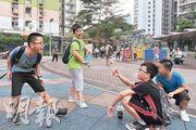 珠海學院民意及民調研究中心4月至6月初的調查顯示,本港學童快樂指數創5年新高,但調查機構預料近月的社會衝突將影響學童情緒。(楊柏賢攝)