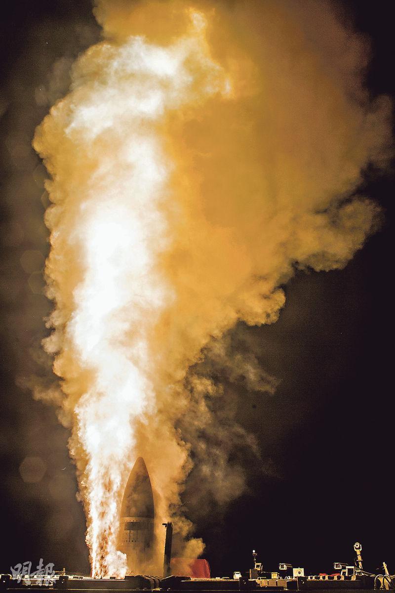 美國務院批准出售73枚日美共同研發的改良型攔截導彈「SM-3 Block IIA」給日本。(法新社)