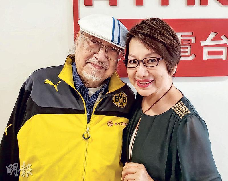 94歲Uncle Ray(左)接受車淑梅訪問,大談昔日與方逸華的戀情,還分享未來大計。