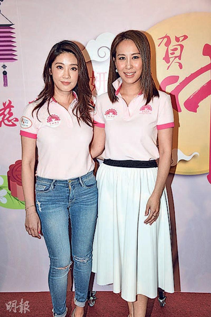 翁嘉穗(左)擔任慧妍雅集新一屆會長,曹敏莉則擔任信託委員會主席。(攝影:劉永銳)