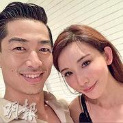 林志玲(右)與日籍老公Akira(資料圖片)