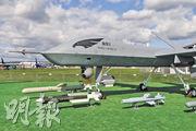 圖為8月27日在俄羅斯莫斯科航展上出現的「翼龍」2型察打一體無人機,比「翼龍」1型更先進。(路透社)