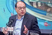 全國政協委員林大輝(圖)說,林鄭月娥與市民的「社區對話」應要在未來數月持續以遍地開花形式在18區舉辦,並與所有司局長一同出席。(劉焌陶攝)