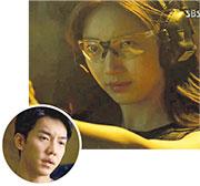 秀智(上圖)與李勝基(圓圖)合演新劇《亡途覓雪》首播報捷,收視率突破10%。