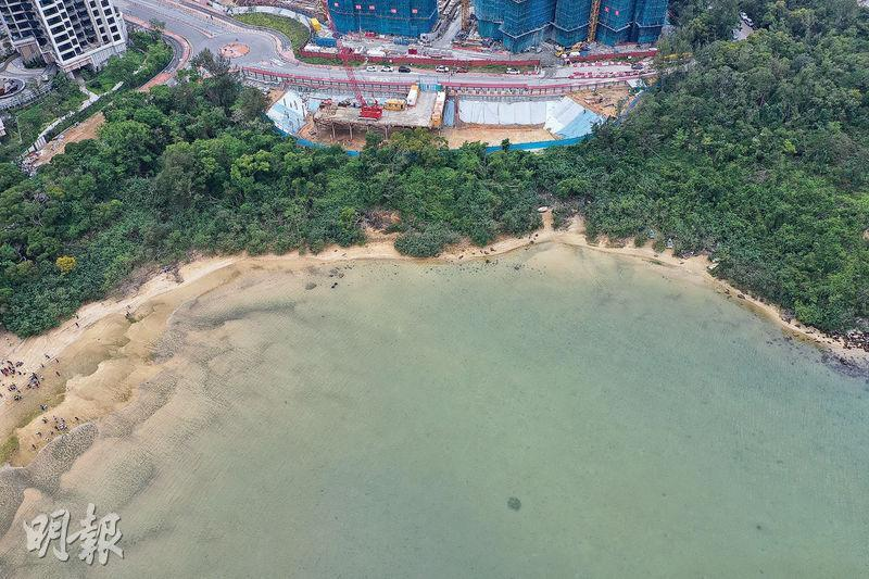 峻源的其中一個賣點為八成單位享海景,住客可觀望海星灣及遠眺吐露港景致。