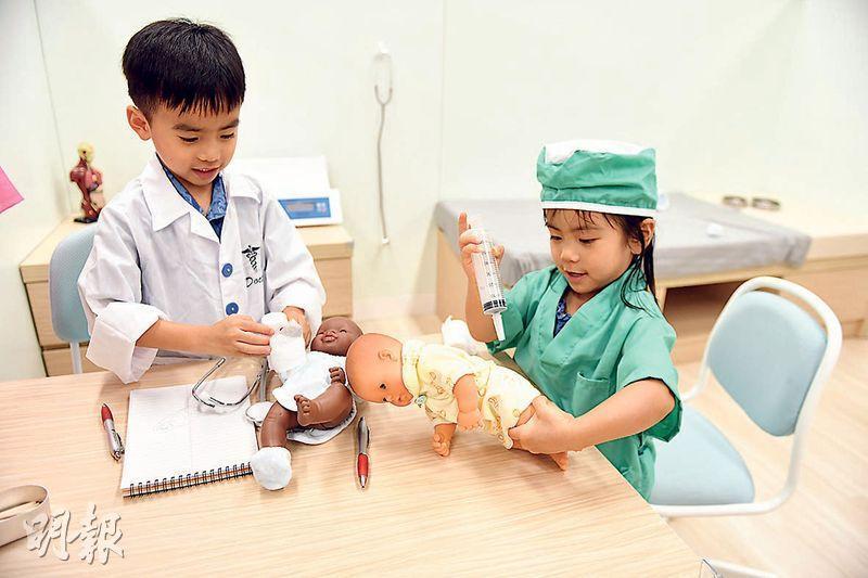 無論成人或小孩都認識醫生和病人遊戲,什麼情况你會選擇看醫生?