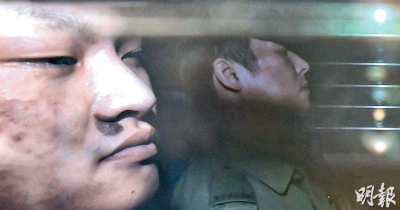 台灣殺人案疑犯陳同佳(左)涉於台灣殺害女友潘曉穎,其後返港,因洗黑錢罪成判囚29個月,今日刑滿獲釋。(資料圖片)
