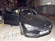 「細龍太」陳偉琪(白帽)前晚涉醉駕被捕。