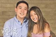 烏爾圖拉(左)與劉映詠(右)合照。(網上圖片)