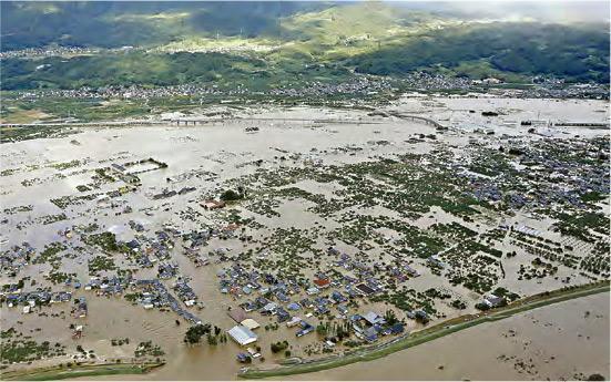 強颱風「海貝思」吹襲,造成多區水浸。