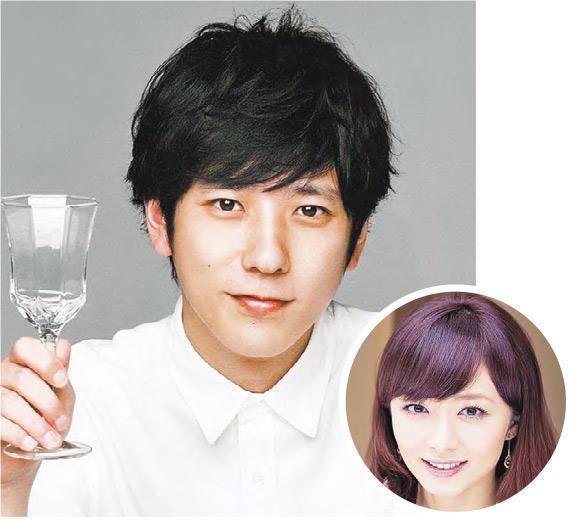 二宮和也突然宣布與女友伊藤綾子(圓圖)結婚,網傳女方已懷孕4個月。