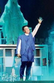 陳奕迅相隔6年再次踏上紅館舞台,可惜「臨門撻Q」,因社會動盪宣布取消。(資料圖片)