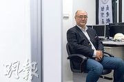 台灣基督長老濟南教會義工、研究台灣白色恐怖的作家龔昭勳表示,香港因素其實是中國因素。(賴俊傑攝)