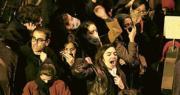 德黑蘭群眾上周六在街頭抗議伊斯蘭革命衛隊擊落烏克蘭客機,氣憤政府意圖隱瞞及歸咎最高領袖哈梅內伊。(新華社)