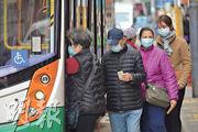本港正值流感季節,再加上武漢新冠狀病毒疫情,街上不少人戴口罩。(鍾林枝攝)