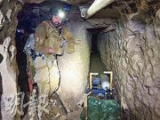 美國當局發現一條逾一公里長隧道,相信用作販運人蛇及毒品,是至今發現最長的跨境非法隧道。(網上圖片)