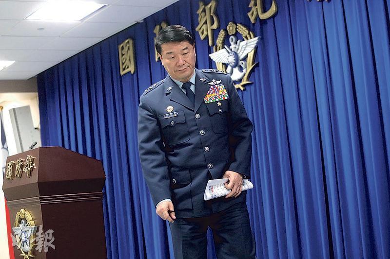 台軍黑鷹直升機上月失事,造成參謀總長沈一鳴上將等8名將士殉職,空軍司令熊厚基上將(圖)自請處分記過一次。(中央社)