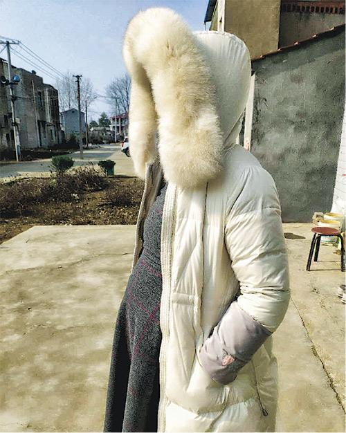 30歲港人孕婦陳小姐(化名)目前身在距離武漢市一小時車程的漢川市,她接受訪問時說因擔心受感染,不敢到當地醫院求診,盼港府協助盡快安排她回港分娩。(受訪者提供)