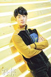 劉俊謙對無入圍金像獎最佳男主角未感失望,能角逐最佳新演員亦好開心。(攝影:孫華中)
