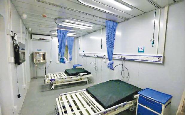 曾抗擊SARS的北京小湯山醫院,昨天起重新啟用以應對境外輸入疫情。(網上圖片)