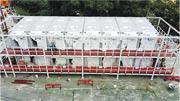 八鄉少年警訊永久活動中心數十單位改裝成檢疫中心(圖)後,現時全港共有約1740個檢疫中心單位,食衛局表示截至昨早,約四成檢疫中心單位正在使用。(資料圖片)