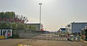 僅用10日就建成的武漢雷神山醫院,目前僅有不到50名新冠肺炎病人,所有馳援的外省醫療隊也在昨日撤走。變得「門庭冷清」。(明報記者攝)