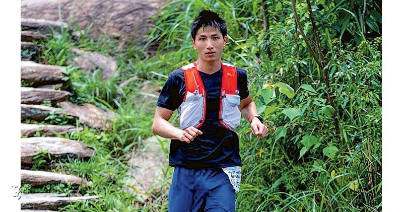 死者吳國興生前熱愛跑步。(網上圖片)