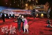 戴高路拿數年前帶同兒子Jeronimo和女兒Fiona出席《俠盜一號:星球大戰外傳》首映禮,這對現年分別11及9歲的小兄妹早前確診新冠肺炎,現已康復回家。