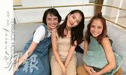 今季《雙層公寓》的3名女生因外貌標青而人氣急升。