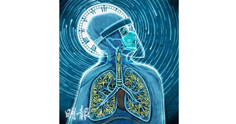 香港插畫家以畫向香港醫護致敬(圖:吳浚匡)