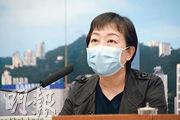 衛生防護中心傳染病處主任張竹君(圖)昨公布3宗來自巴基斯坦的新型冠狀病毒個案,本港至昨連續16日沒新增的本地確診。(蘇智鑫攝)