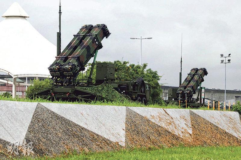 今年的「漢光36號」演習「聯合兵種營」將首度驗證戰力。圖為台軍去年的「漢光35號」演習中,空軍性能最佳的愛國者3型防空導彈駐防台北大佳河濱公園。(資料圖片)