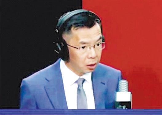 中國駐法國大使盧沙野(圖)上周六在艾克斯經濟學家年會上發言表示,中國始終視歐洲為平等的伙伴而不是對手,希望歐洲更加平等客觀地看待中國。(網上圖片)
