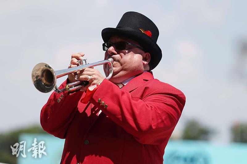 A bugle player (AFP Photo)