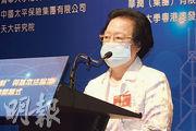基本法委員會副主任譚惠珠昨重申,港區國安法與基本法「平排」,凌駕香港本地法律。