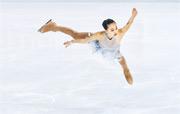 于書然在2017年曾代表新加坡到德國參加國際花式滑冰賽事。(Getty Images)