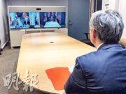 五眼聯盟今年起「打正旗號」舉行有關安全議題的政策會議,圖為加拿大外長商鵬飛本月初以視像方式參與五眼聯盟外長會議。(網上圖片)
