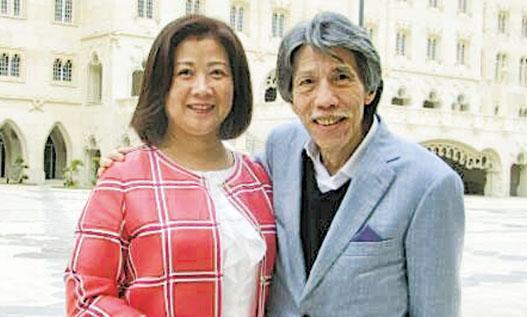 勵駿執行董事兼行政總裁陳美儀(左)表示,公司沒有和任何人達成協議出售漁人碼頭。旁為集團聯席主席周錦輝。
