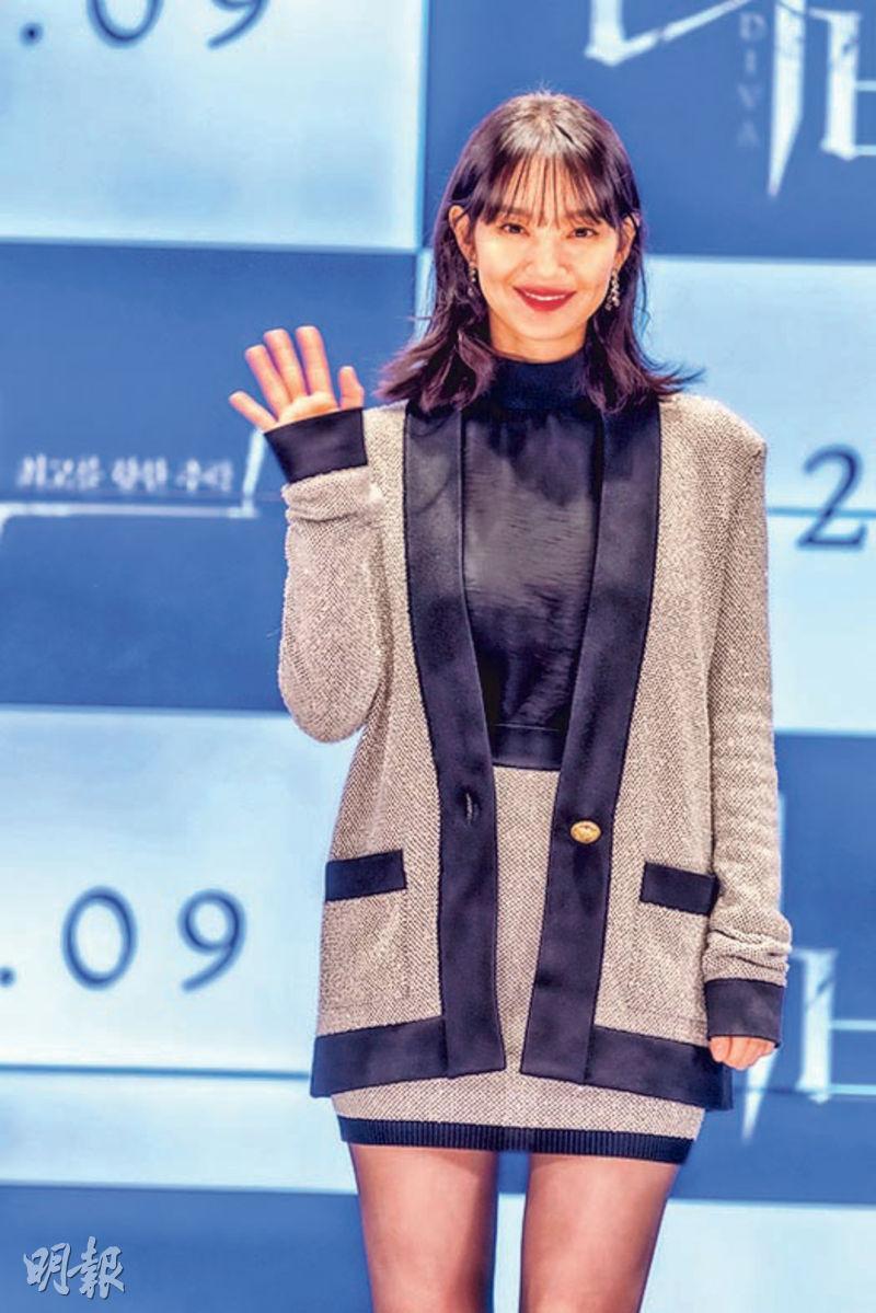 申敏兒在新戲《Diva》飾演跳水選手。