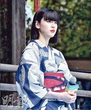 緋聞男友三浦春馬離世後,三吉彩花首度公開現身,宣傳新片《Daughters》。