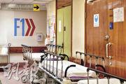 屯門醫院內科一名65歲女病人初步確診,因病房爆滿,她曾在走廊的臨時病牀上留醫,數名同在走廊上留醫的病人列為密切接觸者。據了解,涉事病房為F1內科病房。(梁銘康攝)