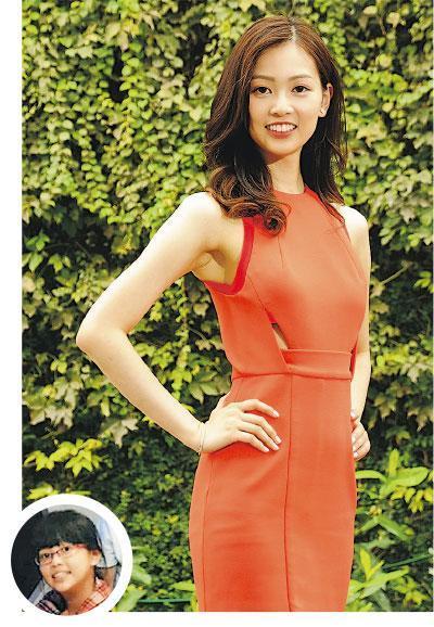 郭柏妍自爆中學時是四眼肥妹仔(圓圖),所以無人追,她也未嘗拍拖滋味。