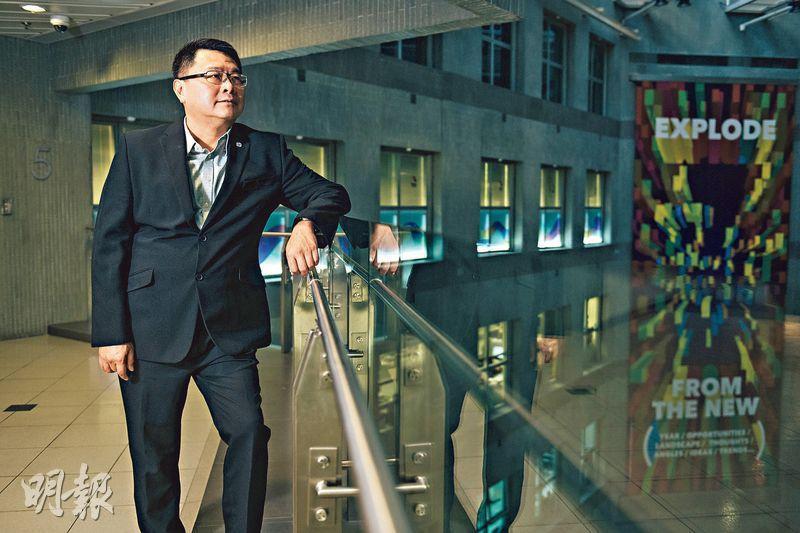 多項抗疫科技出自科學園區公司,香港科技園主席查毅超接受本報專訪時讚揚香港年輕人靈活懂變通,既有港人過往「執生」的精神,而且非為牟利,「他們只想自己可以貢獻多少給社會」。(林靄怡攝)