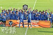 今季陣容深厚的東方龍獅(圖),昨闊別3季重奪高級組銀牌,在一周內連贏兩場決賽達成「雙冠王」。(余瑋攝)