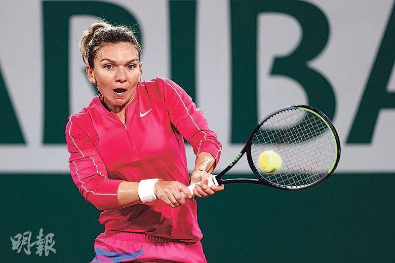 夏納(圖)自上月布拉格國際賽起,已連勝13場,僅失3盤。(Getty Images)