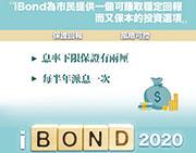 財政司長陳茂波昨在網誌預告,新一輪iBond最低息率保證將調高至兩厘。(網上圖片)