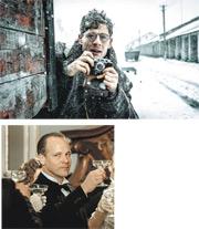 占士諾頓(上圖)飾演的鍾斯,以及彼得沙士格(下圖)扮演的杜蘭迪雖然都是來自西方的記者,又在蘇聯採訪,卻有不同取態。